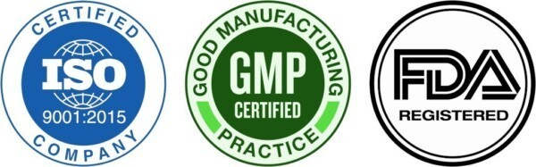 Certificaten-Planet-Ayurveda_ISO-9001-2015_GMP_FDA_Certified